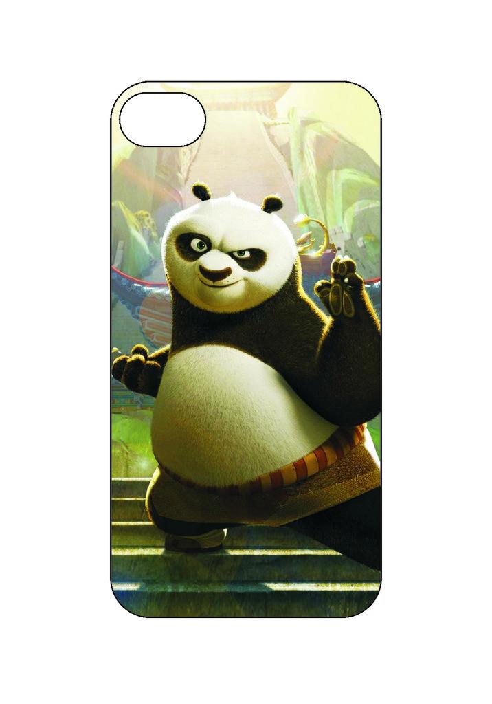 Выбери готовый дизайн для своей модели телефона: Панда в NeoPlastic
