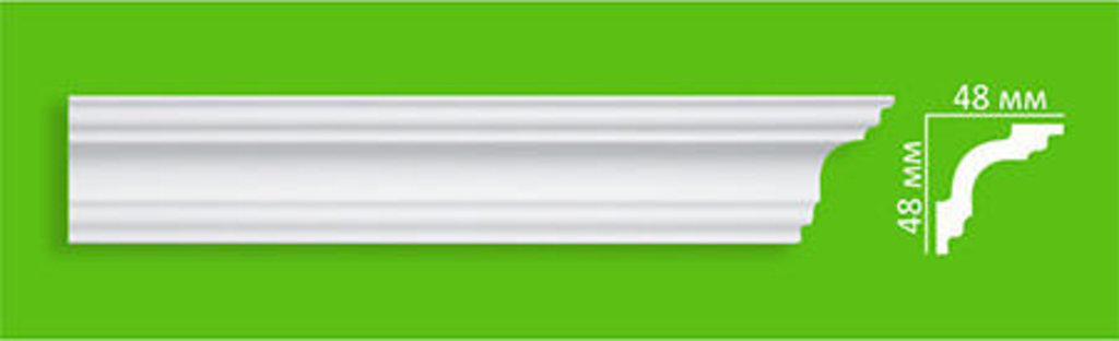 Плинтуса потолочные: Плинтус потолочный Ecoline EK 50 в Мир Потолков