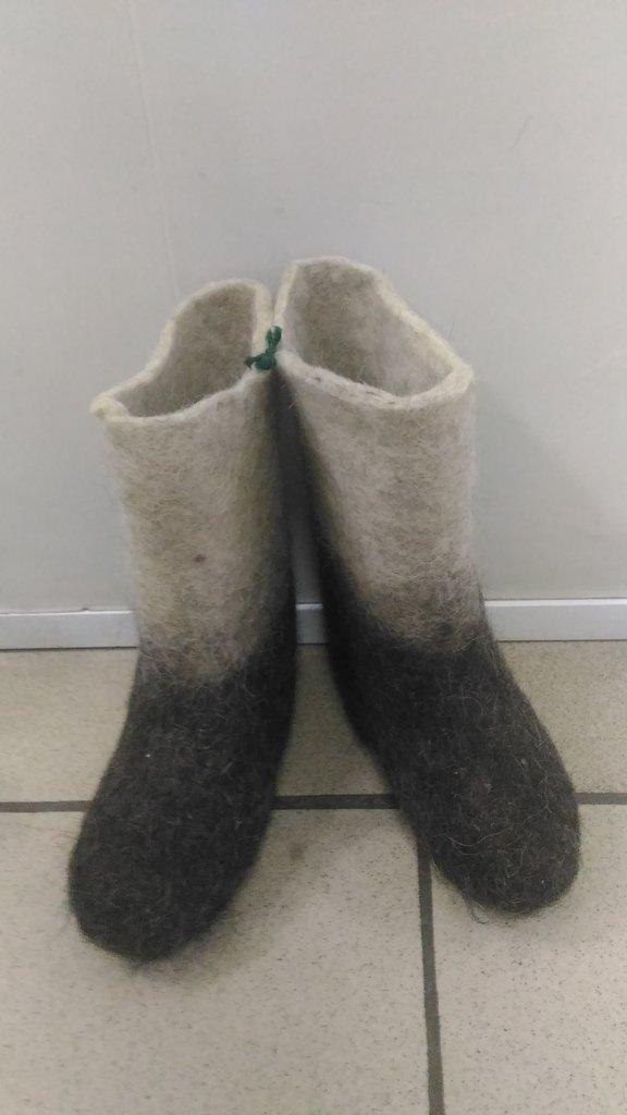 Обувь подростковая и детская: Валенки детские (белые,серые,комбинированные) в Сельский магазин