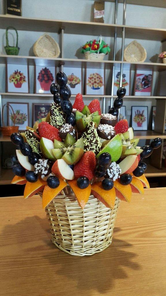 В корзинке: Нежность в Fruit Art