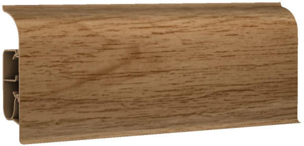Плинтуса напольные: Плинтус напольный 85 полуматовый 8544 дуб канадский в Мир Потолков