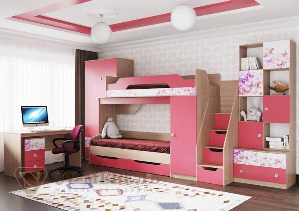 Мебель для детской Сити 1: Стол Сити 1 в Диван Плюс