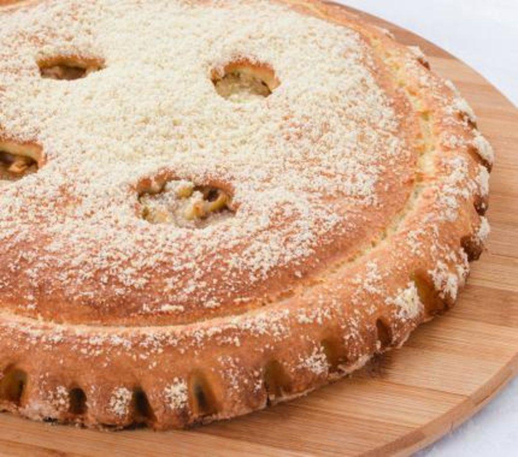 Сладкие: Пирог с Яблоками и корицей в Царевы Пироги