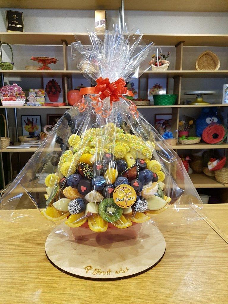 В корзинке: Веер в Fruit Art