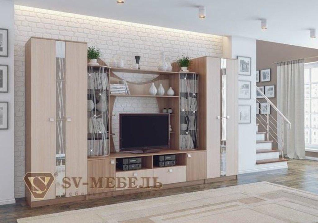 Мебель для гостиной Гамма-15: Шкаф Гамма-15 в Диван Плюс