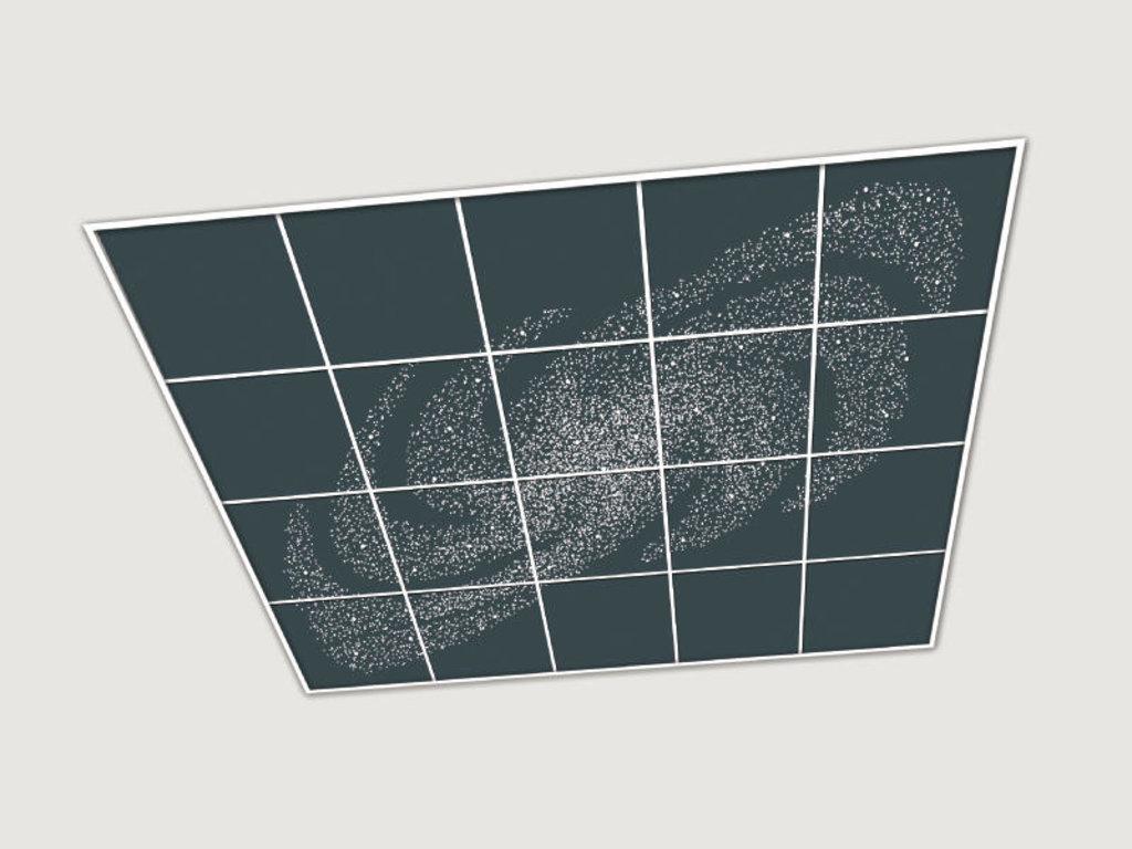 Зеркальные потолоки: Серия «Галактика» в Мир Потолков