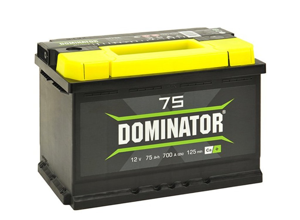 Dominator: Аккумулятор Dominator 75 в БазаАКБ