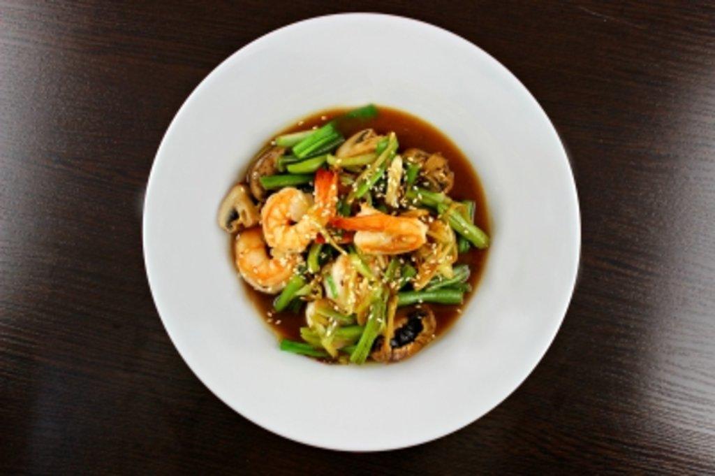 WOK: Креветки в кисло-сладком соусе в Rise-of-Rice