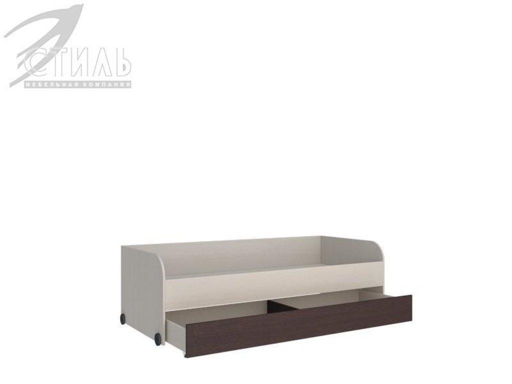 Мебель для детской Мийа - 2 (венге): Кровать нижняя Мийа - 2 (венге) в Диван Плюс