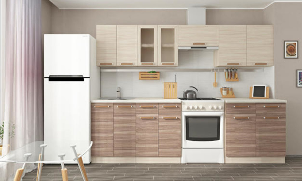 Мебель для кухни модульная серия Прага: Стол комби 800. Кухня Прага в Уютный дом