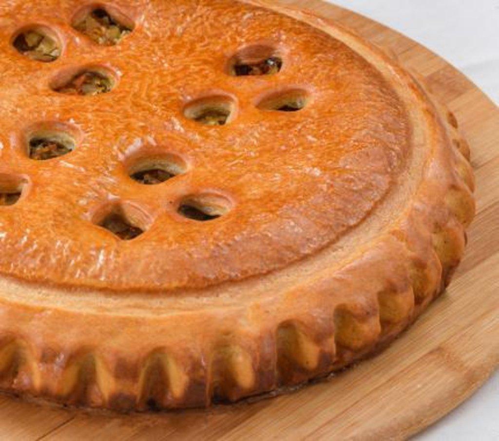 Овощные: Пирог с капустой и грибами в Царевы Пироги