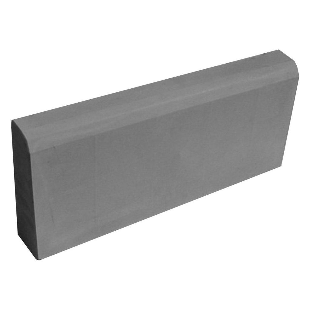 Бордюрный камень, дорожный бордюр: Бордюр (камень бортовой) 75х210х1м цвет серый в Мир Плитки /Планета Ковки