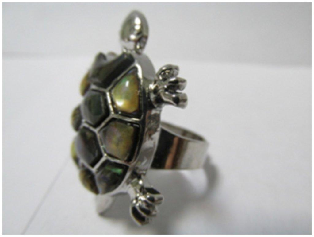 Кольца: Кольцо «Черепаха» в Шамбала, индийская лавка