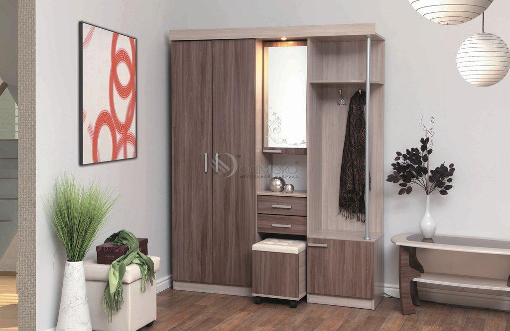 Шкафы для прихожих: Шкаф комбинированный Дебют - 5 в Стильная мебель