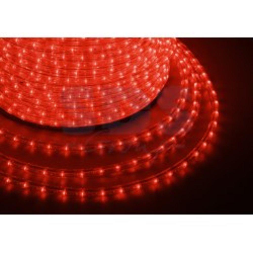Дюралайт и комплектующие: Дюралайт LED КРАСНЫЙ /3-х жильный/ (рез 2м) в СВЕТОВОД