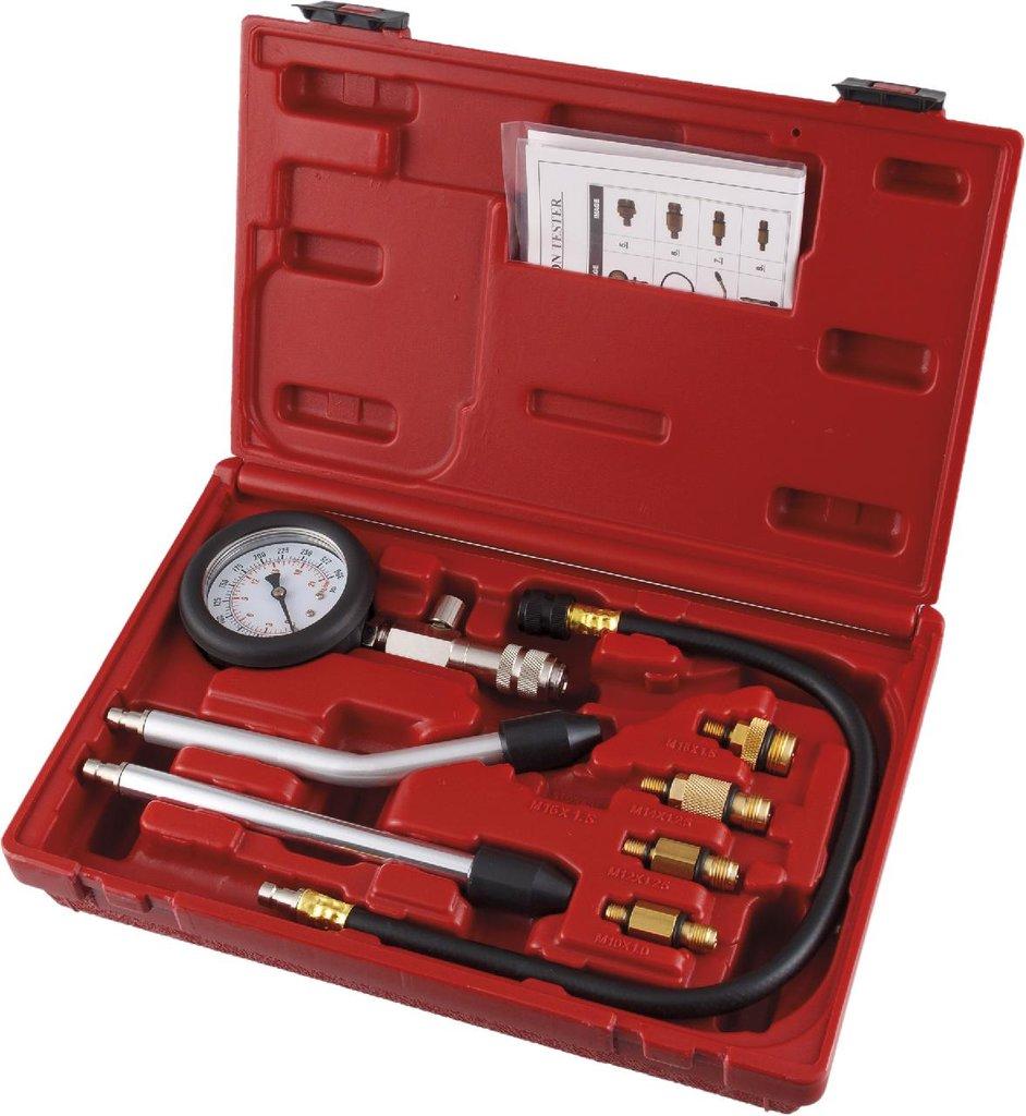 Инструмент для ремонта и диагностики двигателя: KA-6640NA компрессометр бензиновый с насадками и переходниками в Арсенал, магазин, ИП Соколов В.Л.