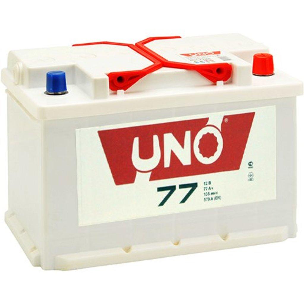 UNO: Акб UNO 77 А/ч в БазаАКБ