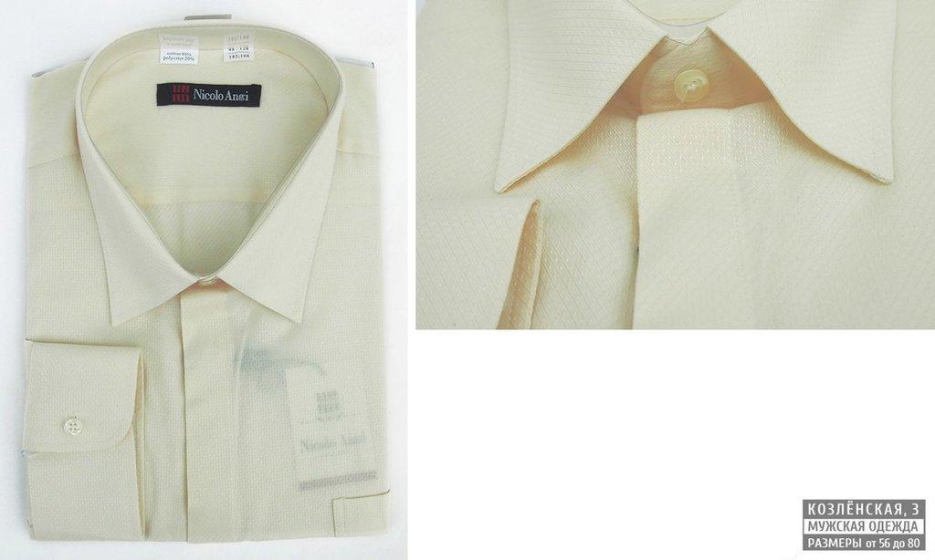 Рубашки, сорочки (длинный рукав): Мужская сорочка в Богатырь, мужская одежда больших размеров