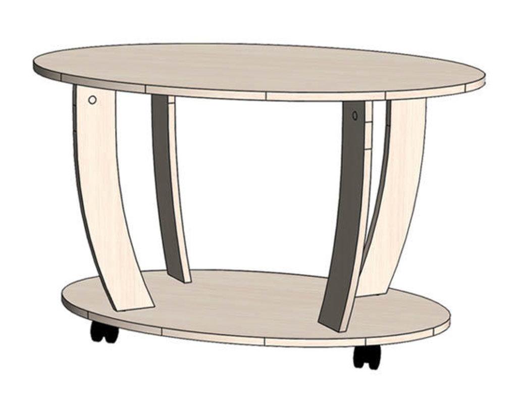 Малые формы: Стол журнальный овальный в Уютный дом