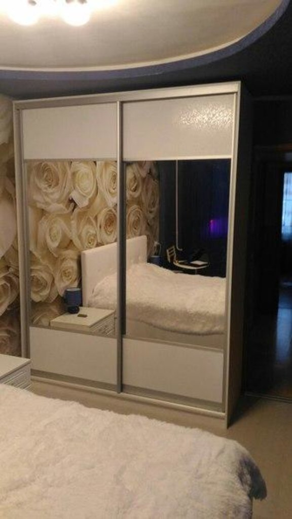 Шкафы-купе: Шкаф-купе 5 в Квадра Мебель
