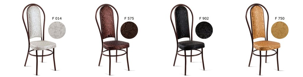Стулья (металлик): Стул ресторанный СП (металлик, бронза, чёрный) в АРТ-МЕБЕЛЬ НН