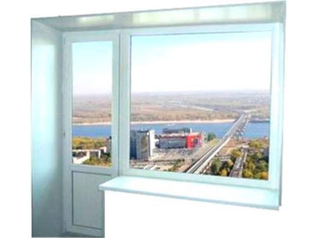 Пластиковые окна VEKA: Окно с дверью из профиля Века на балкон в СтройПрофиль