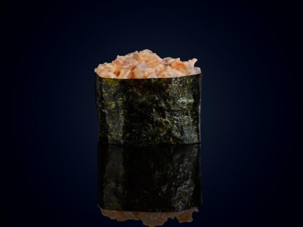 Суши и гунканы: Гункан Спайс эби в МЭСИ суши&роллы