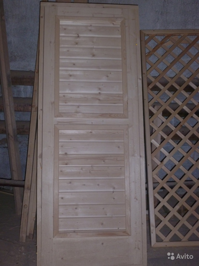 Двери: Деревянные двери (в баню, дачные домики, кладовки) в Отделочные материалы из дерева на Беляевской