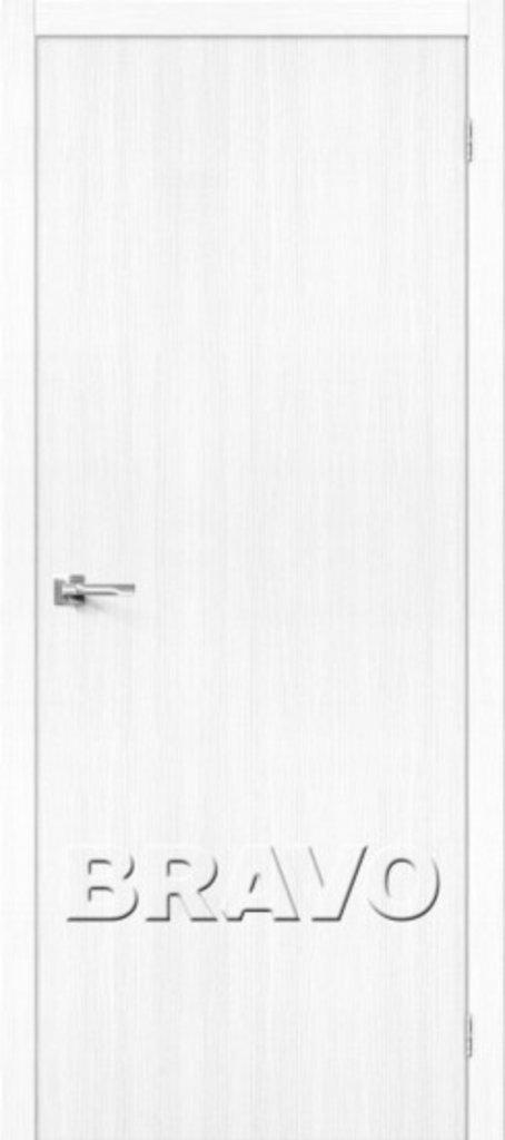 Двери экошпон BRAVO: Тренд-0 Snow Veralinga в STEKLOMASTER