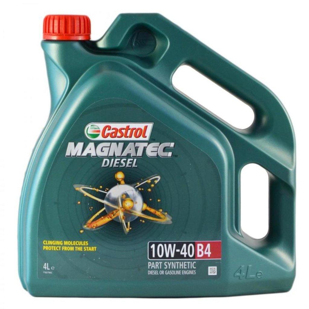 Автомасла Castrol: CASTROL MAGNATEC Diesel 10W-40 B4 (4.0 л) в Автомасла71