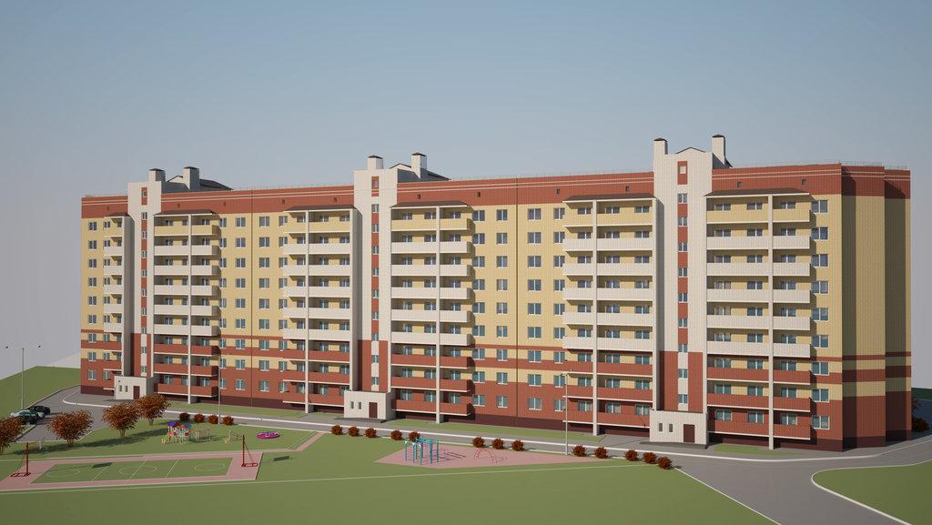 Двухкомнатные квартиры: Двухкомнатная квартира (Секция №3) в Стройсектор, ООО