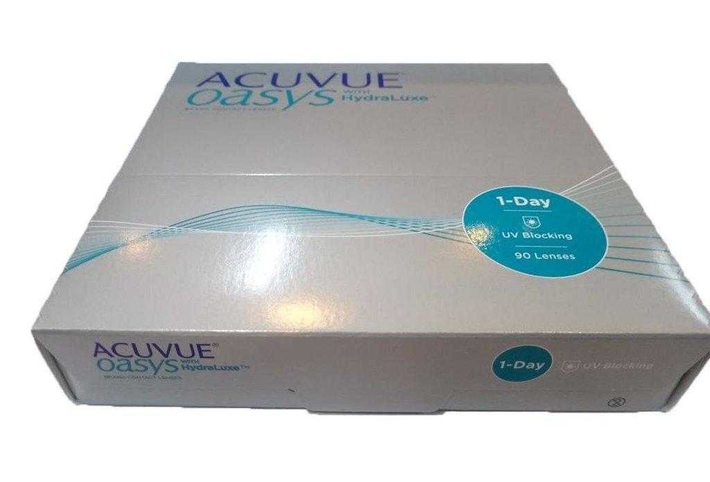 Контактные линзы: Контактные линзы 1-Day ACUVUE Oasys with Hydraluxe (90шт / 8.5) Johnson & Johnson в Лорнет