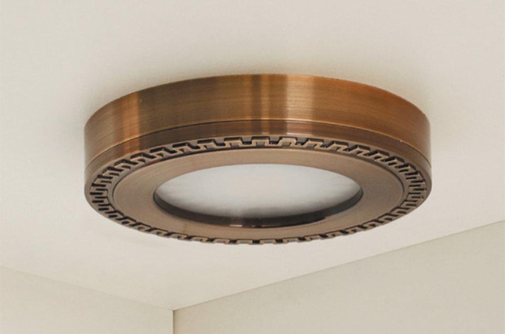 LED Nika: Комплект из 4-х светильников LED Nika, 3000K, отделка бронза античная в МебельСтрой