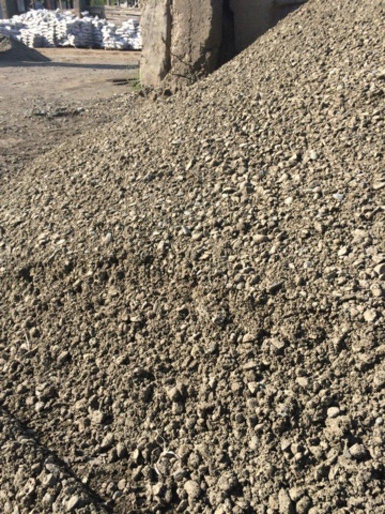 Галька, щебень: Песчано-щебеночная смесь фр.0-20, м3 в 100 пудов
