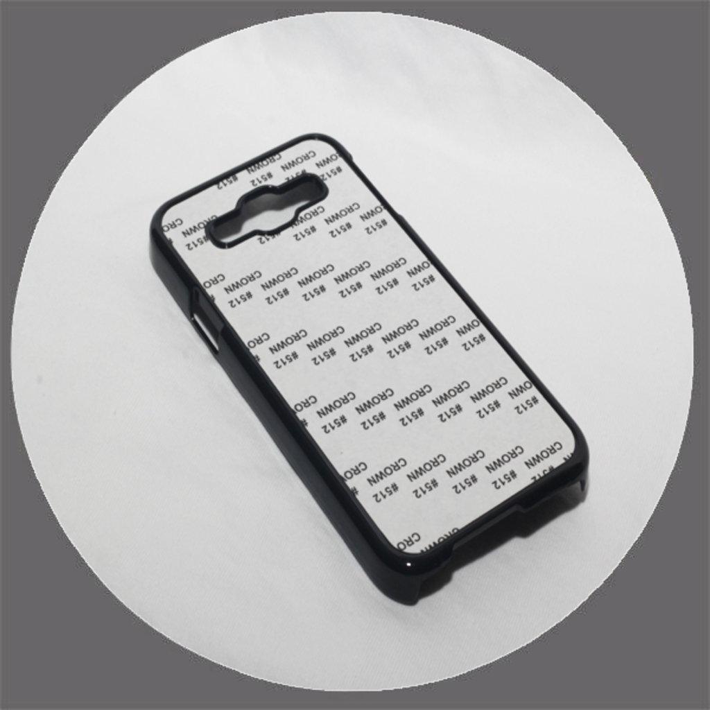 Samsung: Чехол для Samsung Galaxy E5 Черный пластиковый в NeoPlastic