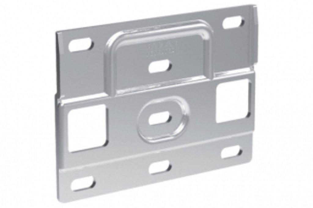 Подвеска каркасов: Кронштейн 120х86 мм для подвески арт.819, отделка цинк в МебельСтрой