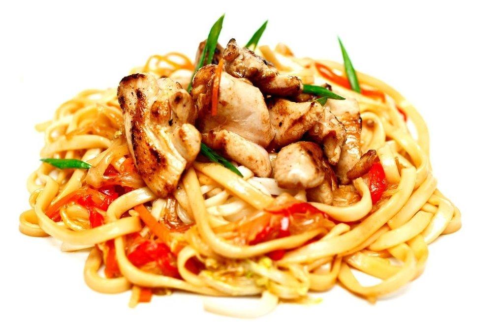 WOK: Удон с курицей в Мастер Пицца Краснодар