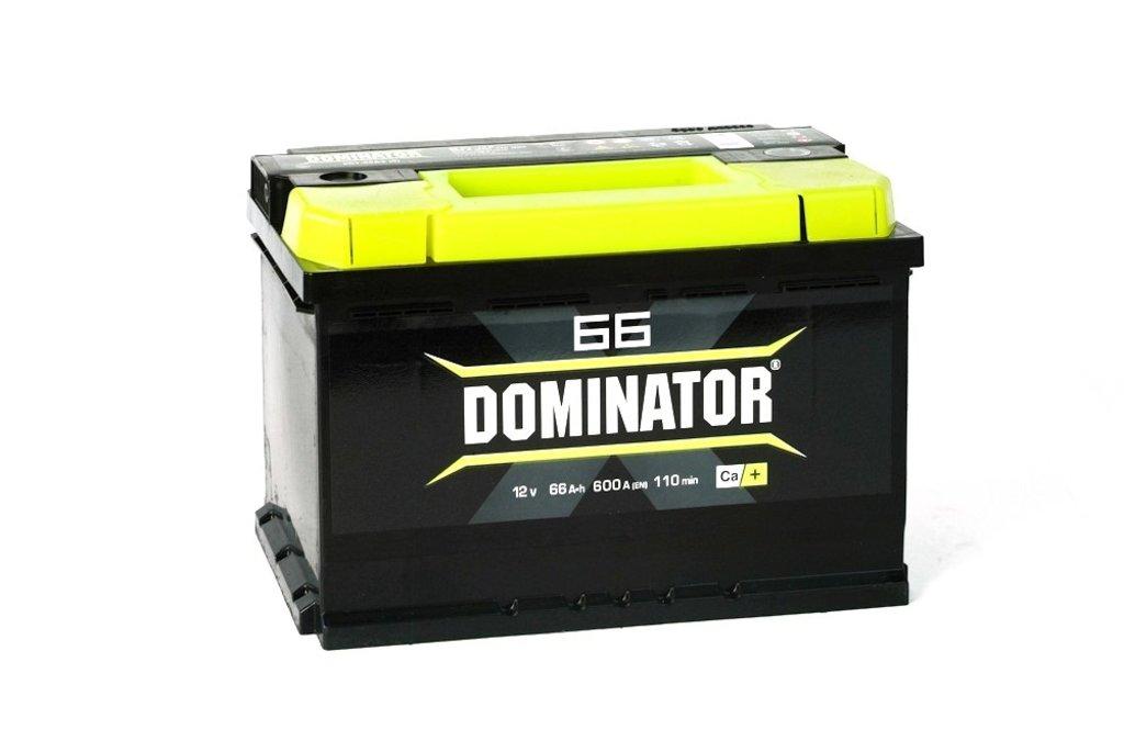 Dominator: Аккумулятор Dominator 66 в БазаАКБ
