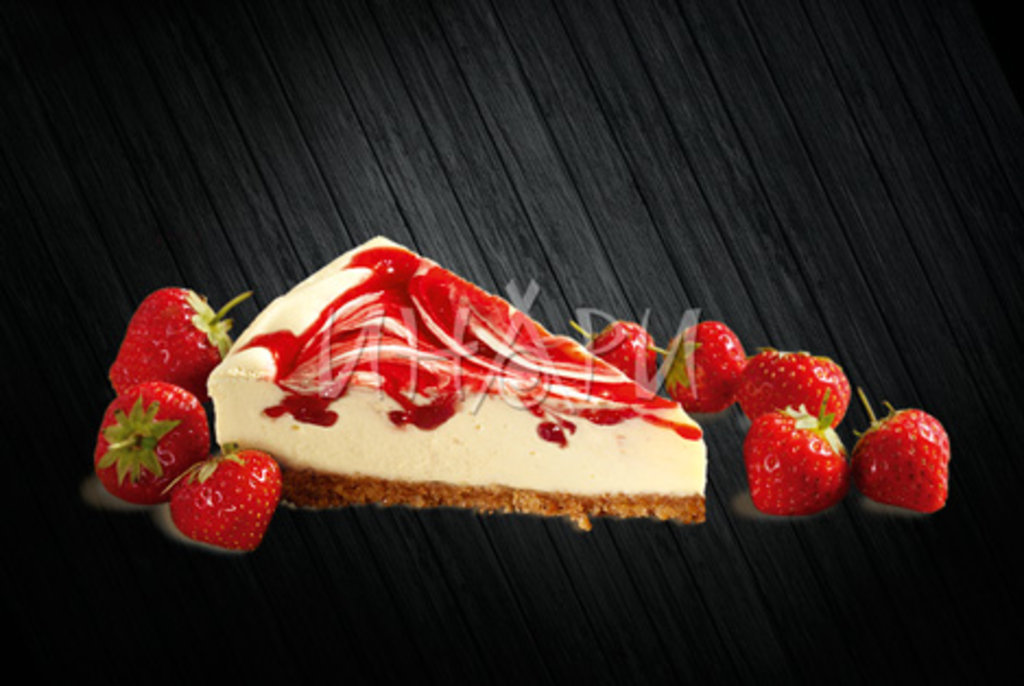 Десерты: Чизкейк Клубничный в Инари