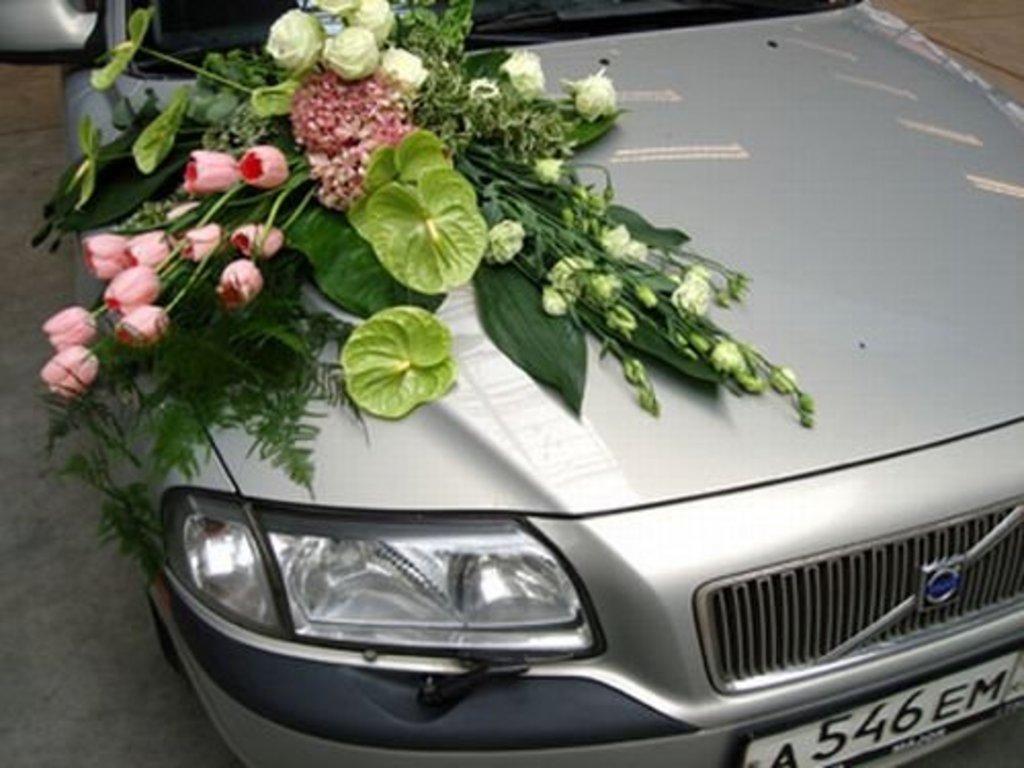 Украшения для свадебных машин: Свадебное оформление автомобиля / Kicenije auto za vencanje в Lilies