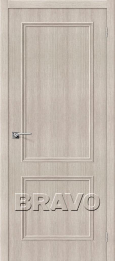 Двери экошпон BRAVO Classico: Классико-18 Cappuccino Veralinga в STEKLOMASTER