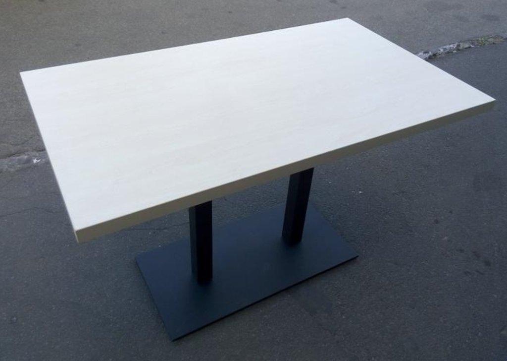 Столы для ресторана, бара, кафе, столовых: Стол прямоугольник 1200х700, подстолья 01 R-80 чёрная в АРТ-МЕБЕЛЬ НН