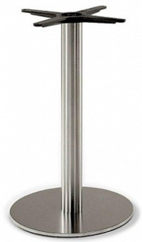 Подстолье, опоры: Подстолье 1201EM (нержавеющая сталь матовое) в АРТ-МЕБЕЛЬ НН