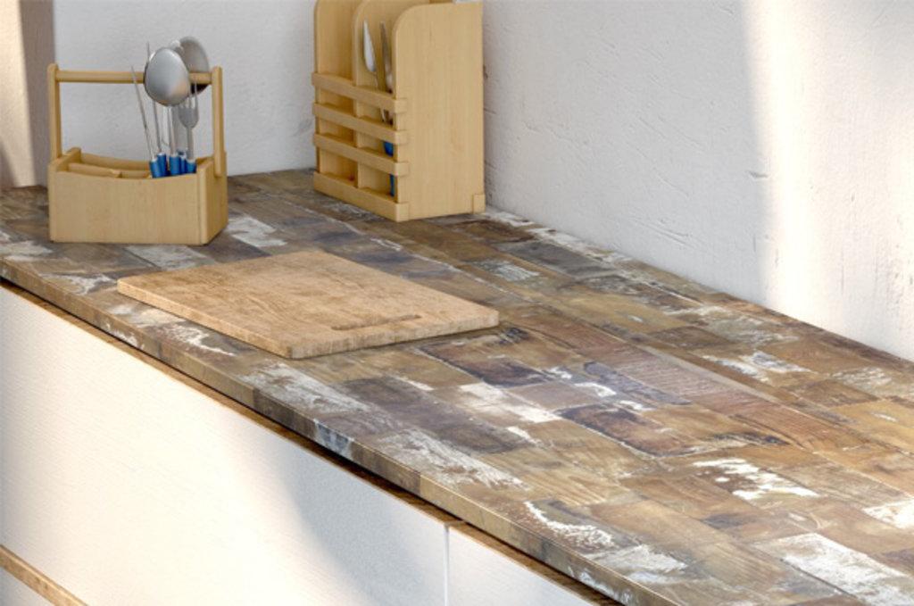 Столешницы с кромкой: Столешница  Олдвуд (кат.A) в МебельСтрой