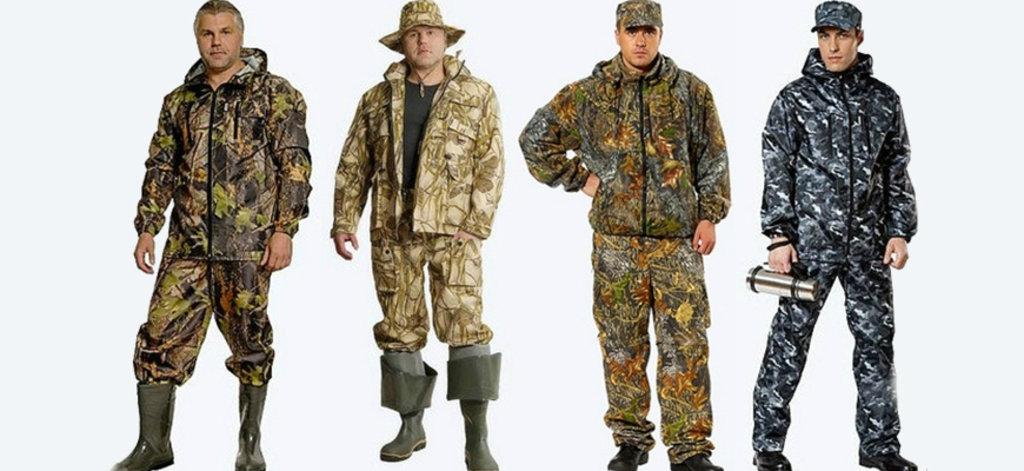 Пошив рыболовной одежды