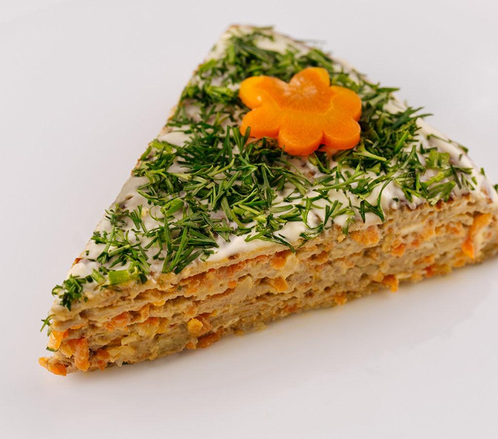 Горячее: Печеночный торт в Провиант