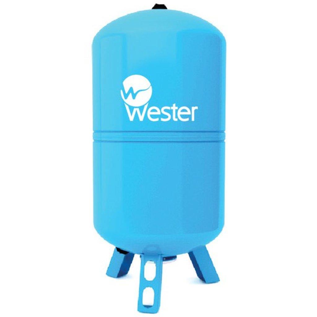 Гидроаккумуляторы: Гидроаккумулятор Wester WAV 100 в Аквамарин, бурение скважин на воду в Вологде