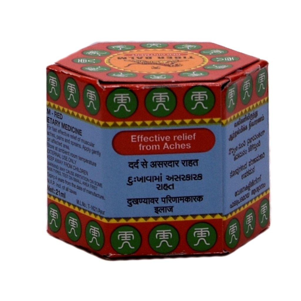 Масла, бальзамы: Tiger balm red ointment в Шамбала, индийская лавка