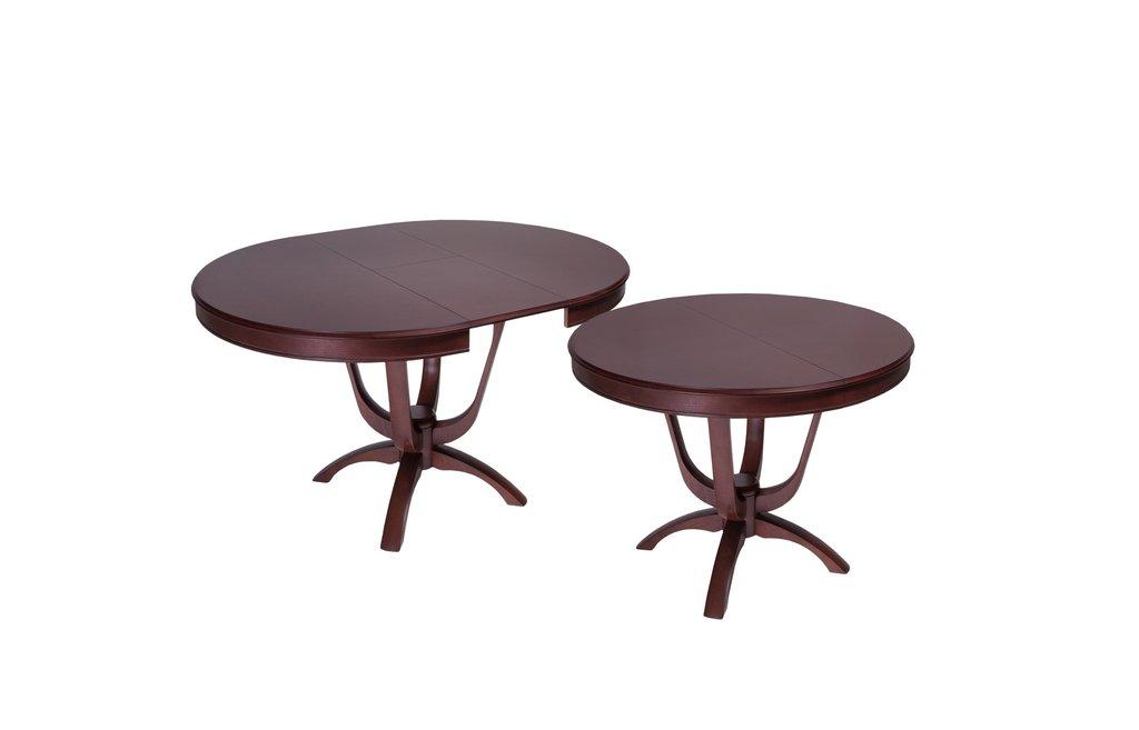 Столы деревянные: Стол Камелия К (вставка бабочка) в АРТ-МЕБЕЛЬ НН