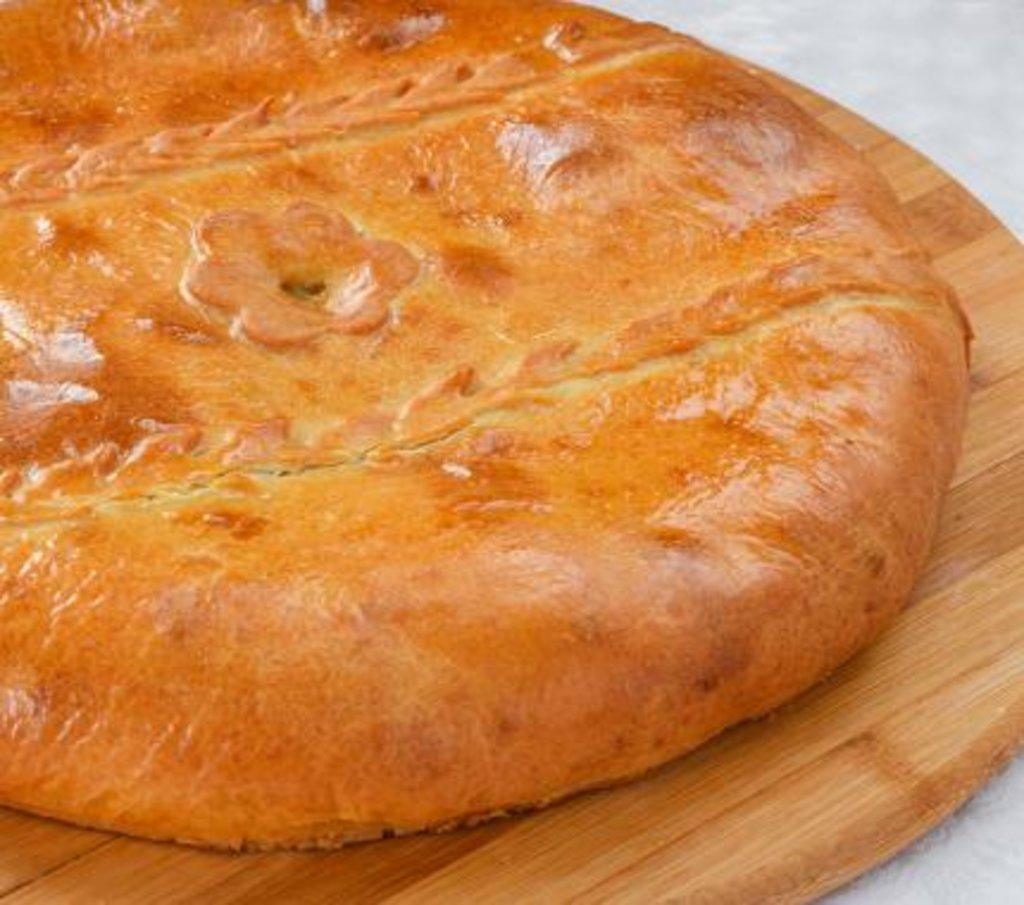 Татарские пироги: Пирог татарский с Говядиной и гречкой в Царевы Пироги